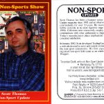 #23 Scott Thomas Non-Sport Update