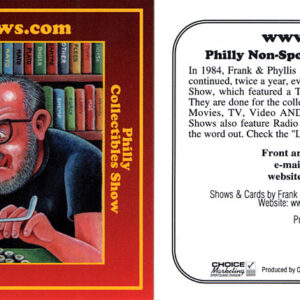 #25 Frank & Phyllis Reighter Philly Non-Sports Card Show/Philly Collectibles Show card