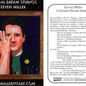 unnumbered Steven Miller Celestial Dream Studios (This card is a variant of card #41 and is available from the artist)