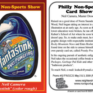 "#52 Neil Camera ""Fantastink (color rough)"""