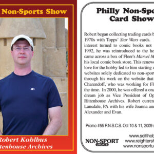 #55 Robert Kohlbus Rittenhouse Archives