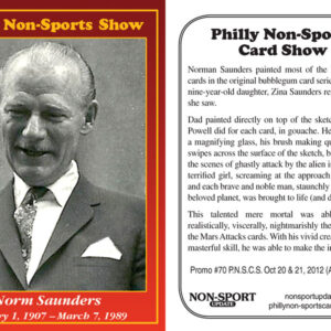 #70 Norm Saunders