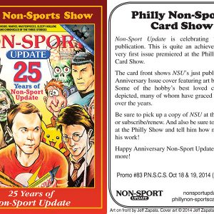 #83 25 Years of Non-Sport Update