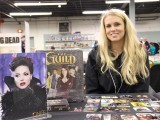 Cryptozoic Entertainment's Miranda Anderson at the 57th Philly Non-Sports Card Show