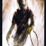 Mars Attacks P11 (Topps; art by Menton Matthew III)