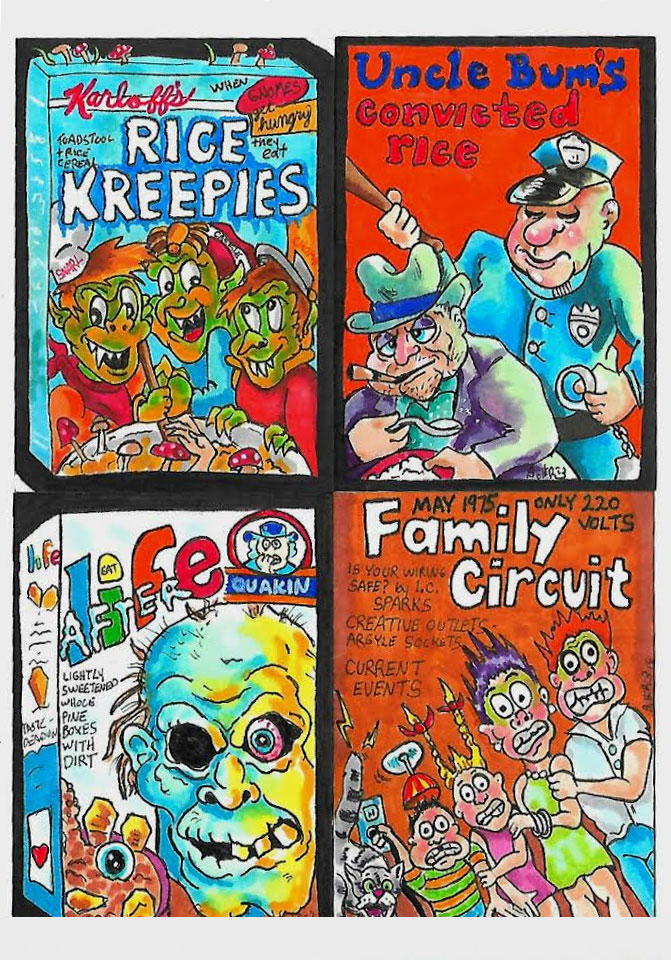Wacky Packages by Chad Scheres