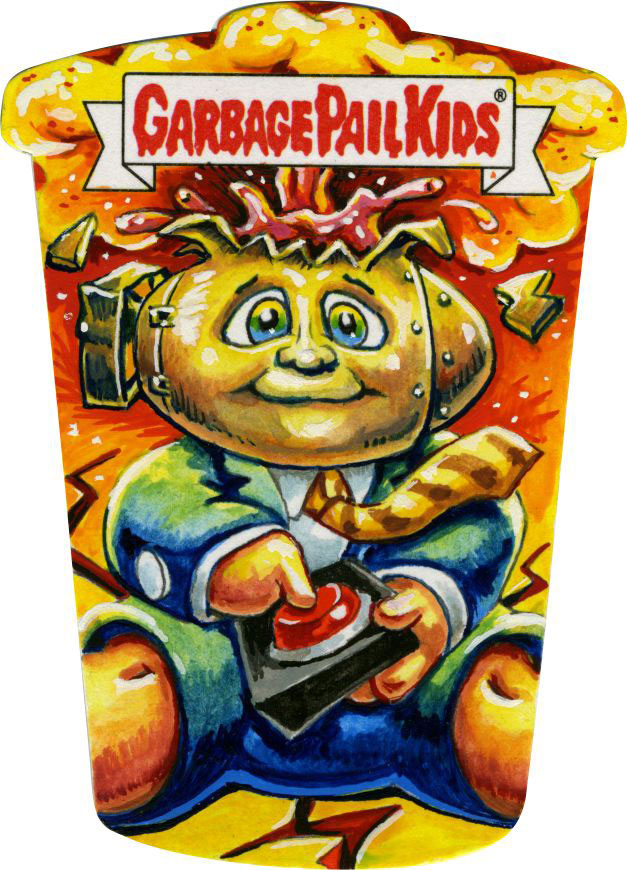 Garbage Pail Kids by Smokin' Joe