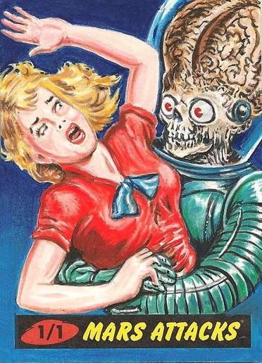 Mars Attacks by Neil Camera