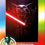 "Blood Drive - Exclusive ""Darth Batter"" metal card"