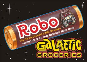 Galactic Groceries GGP6 (Wright Stuff Graphics; available at George Wright's table)