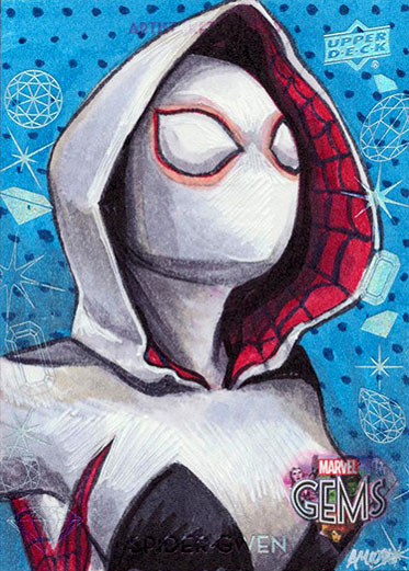 Spider-Gwen by Ashleigh Popplewell
