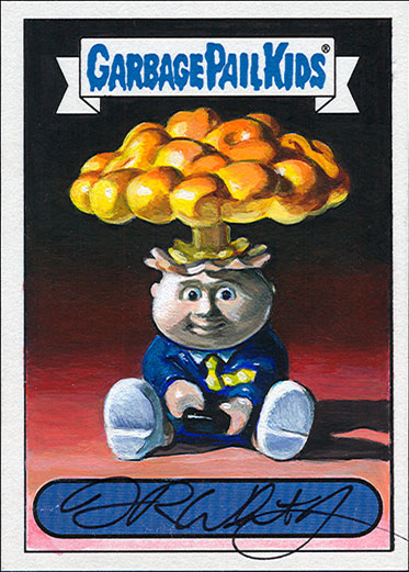 Garbage Pail Kids by Fred Wheaton