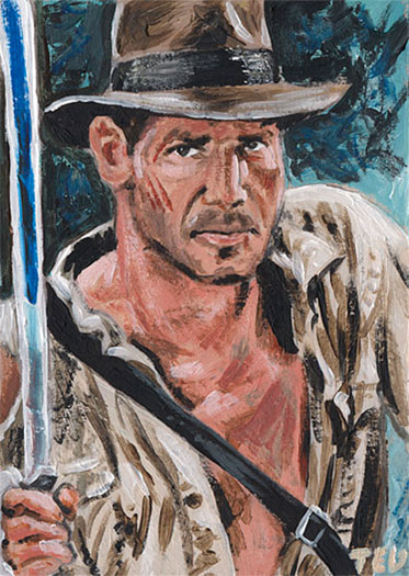 Indiana Jones by Ted Dastick Jr.