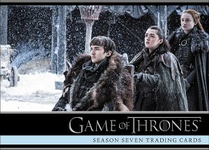 Game of Thrones Season 7 P4 - LIMITED (Rittenhouse Archives; each promo pack contains this card OR Twin Peaks while supplies last)