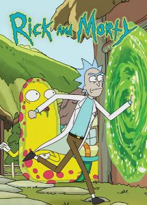 Rick and Morty Season 1 P7 (Cryptozoic Entertainment; Cryptozoic Entertainment tables)