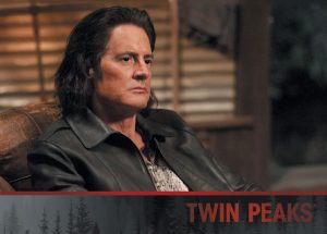 Twin Peaks P4 - LIMITED (Rittenhouse Archives; each promo pack contains this card OR Game of Thrones while supplies last)