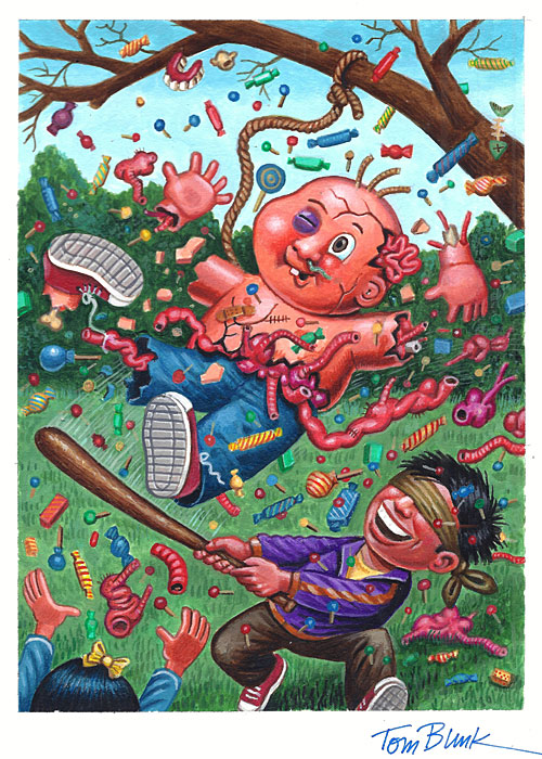 Garbage Pail Kids art by Tom Bunk