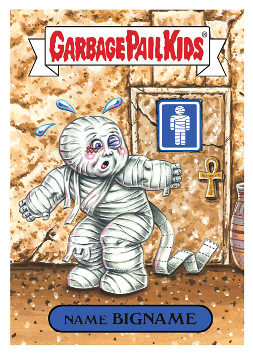 Garbage Pail Kids by David Gross