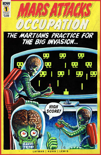 Mars Attacks Occupation by Neil Camera