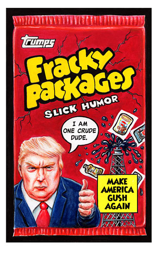 "Wacky Packages ""Fracky Packages"" by Neil Camera"