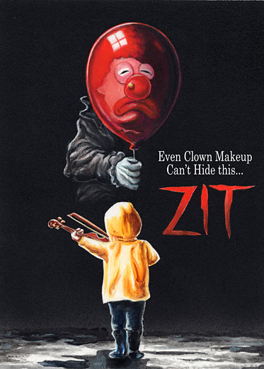 "Wacky Packages ""Zit"" by Neil Camera"
