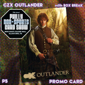 CZX Outlander P5 (Cryptozoic Entertainment; Cryptozoic Entertainment tables; available with box break)