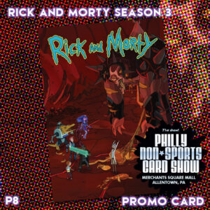 Rick and Morty Season 3 P8 (Cryptozoic Entertainment; Cryptozoic Entertainment tables)