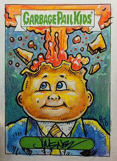 Garbage Pail Kids by Robert Jimenez