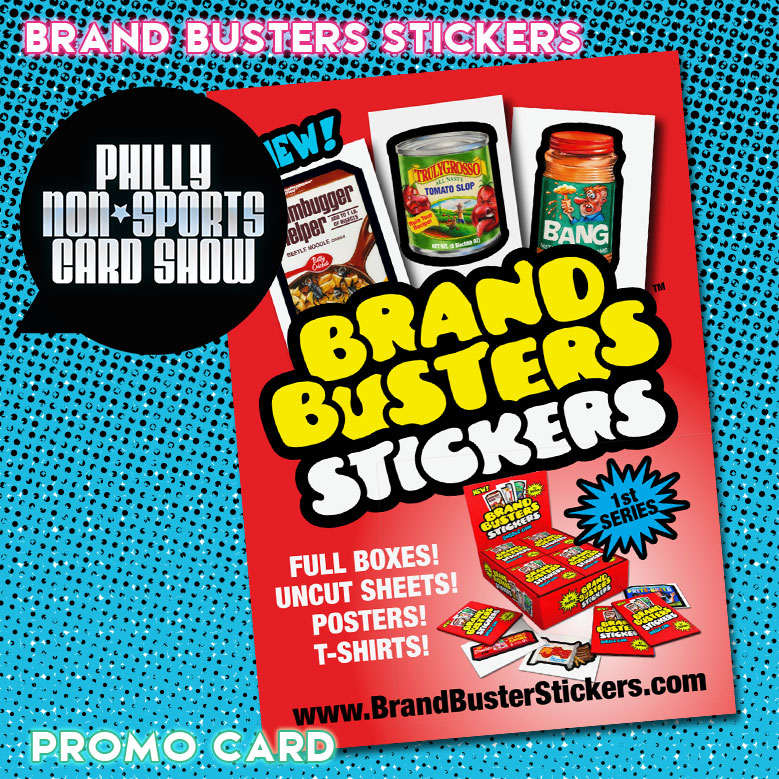 Brand Busters Stickers